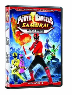 Power Rangers: Samurai, Volume 2: A New Enemy DVD ~ Alex Heartman, http://www.amazon.ca/dp/B007PSHDFK/ref=cm_sw_r_pi_dp_F4DAsb104K18F