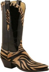 Lucchese Boots- Hair on Calf...