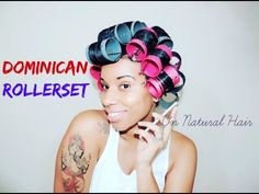 Roller Set On Natural Hair Without Heat is one of the best ways to stretch your natural hair! what is roller setting? These Roller Set Hairstyles will. Black Natural Hair Care, Black Hair Care, Be Natural, Natural Hair Styles, Roller Set Hairstyles, Trendy Hairstyles, Youtube Hair Tutorials, Hair Without Heat, Natural Hair Tutorials