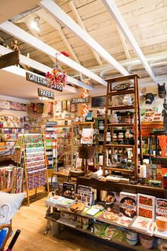 Heartfelt Shop  We dare you to enter Heartfelt and not fall in love with every little thing on the shelves. The gift shop on Cortland is the very definition of quirky from its merch to its design. You could find exactly what you looking for by following its wooden aisle signs, or wander through the rows of whimsical trinkets to find things like an Elvis mug, cookbooks, and letter ...