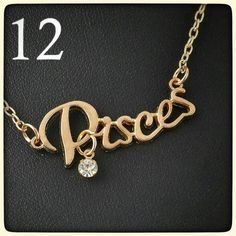 I just discovered this while shopping on Poshmark: Pisces necklaceNWT RETAIL. Check it out! Price: $10 Size: OS, listed by rttlngr