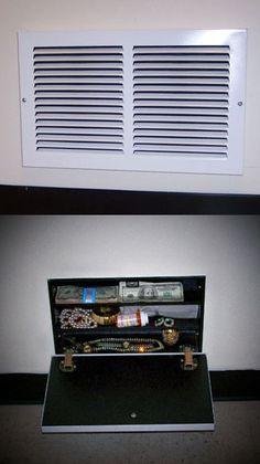 WALL CLOCK WITH HIDDEN COMPARTMENT *secret* Stash *safe* NEW | Hidden  Storage, Wall Clocks And Clocks