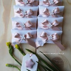 Communion Favors, Bows, Tags, Arches, Bowties, Bow