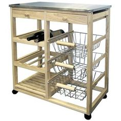 Shop a great selection of ORE International Wood Kitchen Cart. Find new offer and Similar products for ORE International Wood Kitchen Cart. Kitchen Utility Cart, Kitchen Island Cart, Kitchen Tops, Kitchen Islands, Kitchen Utensils, Kitchen Ideas, Kitchen Carts On Wheels, Kitchen Upgrades, Kitchen Inspiration