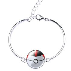 Do you love Pokemon GO? Grab this super cute Pokemon Pokeball Charm Bracelet. They'll know you're a serious player when you show up with this! Length : 16+5cm INTERNET EXCLUSIVE - NOT SOLD IN STORES