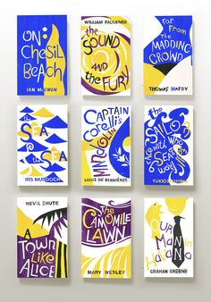 CMYK: VINTAGE SUMMER Featuring classic novels from...