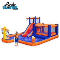 Blast Zone  Inflatable Water Park