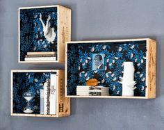 62 fantastiche immagini su come riciclare le cassette di legno