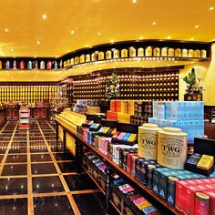 Tea Shops: TWG Tea Salon & Boutique; Singapore