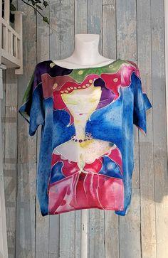 Silko palaidine  #silkopalaidine #silkorubai #silkodovana Tie Dye, Tops, Women, Fashion, Moda, Women's, La Mode, Shell Tops, Fasion