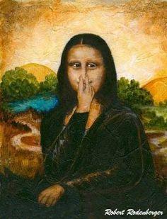 Resultado de imagem para Monalisa bruxa