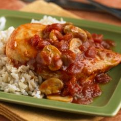 RO*TEL Chicken Diablo: Chicken simmered in spicy RO*TEL Tomato and Diced Green Chili Sauce adds something extra to the typical weeknight meal.