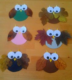 creative brainstorming: Autumn hunting tips - - basteln Fall Crafts For Kids, Thanksgiving Crafts, Diy For Kids, Holiday Crafts, Kids Crafts, Daycare Crafts, Toddler Crafts, Owl Crafts, Crafts To Do