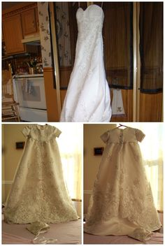christening+gown+from+wedding+dress | Make a Christening Gown from Your Wedding Dress