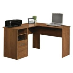 Sauder Camber Hill Desk with Return Sand Pear by Sauder. $116.27. Adjustable shelf. File drawer accommodates letter-size hanging files. Desk can be assembled with drawer on right or left side. Proudly Made in the USA. 409085 Features: -Desk with return.-Desk can be assembled with drawer on right or left side.-File drawer accommodates letter size hanging files.-Adjustable shelf.-Made in USA. Assembly Instructions: -Assembly required. Dimensions: -Dimensions: 28.125'' He...