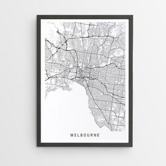 The perfect print for those that love where they live or want to remember, or dream, about Melbourne. Who doesn't love black and white for its simple, crisp and clean look.
