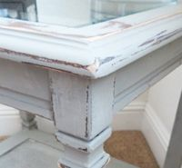 What to Know About Painting Kitchen Cabinets With Chalk Paint - Painted Furniture Ideas Spray Painting Wood Furniture, Painted Furniture, Glazing Furniture, Building Furniture, Repurposed Furniture, Cool Furniture, Kitchen Furniture, Kitchen Table Redo, White Washed Furniture