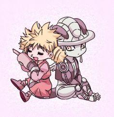 Komugi and Meruem ~Hunter X Hunter