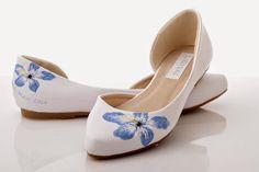 Increíbles zapatos de novia   Moda Verano 2016