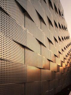 Pormenor da textura Arquiteto: Jun'ichi Ito Architect Fotógrafo: Naoomi Kurozu