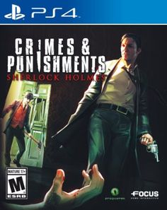 Crimes and Punishments: Sherlock Holmes - PlayStation 4: Video Games
