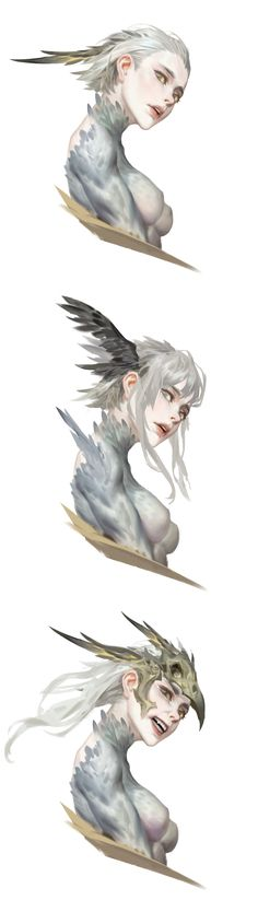ArtStation - Bei Yan You need to lose yourself a little before truly finding yourself Fantasy Character Design, Character Design Inspiration, Character Concept, Character Art, Concept Art, Anime Kunst, Anime Art, Character Illustration, Illustration Art