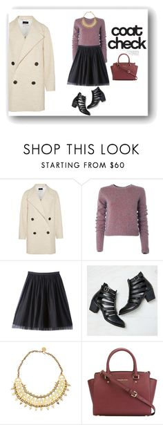"""""""Untitled #168"""" by alexandra-barbu-1 ❤ liked on Polyvore featuring Joseph, Marc by Marc Jacobs, Bebe, American Eagle Outfitters and MICHAEL Michael Kors"""