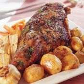 Free herb-infused roast lamb recipe. Try this free, quick and easy herb-infused roast lamb recipe from countdown.co.nz. Lamb Recipes, Free Recipes, Roast Lamb, Online Supermarket, Roasting Pan, Roasted Vegetables, Fresh Herbs, Quick Meals, Cooking Time