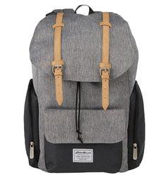 Eddie Bauer Backpack Diaper Bag - Gray - image 1 of 9 Best Backpack Diaper Bag, Messenger Backpack, Man Diaper Bag, Diaper Bags For Dads, Cool Backpacks, Bag Storage, Unisex, Stuff To Buy, Backpacks
