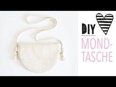 Halbmond-Tasche nähen mit Schnittmuster / DIY MODE Tasche aus Kork - YouTube