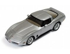 The IXO 1/43 Chevrolet Corvette C3 1981 Silver/Black is a superbly detailed diecast model car in the IXO 1/43 scale Diecast Car Collection.