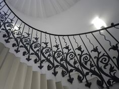 Tulip staircase. The Queens House, Greenwich London