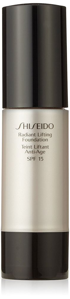 Shiseido Radiance Lifting Foundation SPF 17, Rich Brown, 1.2 Ounce * This is an Amazon Affiliate link. Continue to the product at the image link.