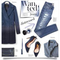 True Blue: Distressed Denim