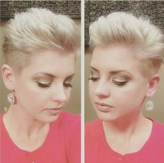 Shaved Pixie Haircut
