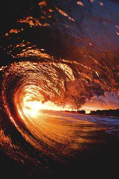 "lsleofskye: ""Color "" - Sunrise and Sunset - Nature No Wave, Sunset Wallpaper, Beautiful Ocean, Amazing Nature, Beautiful Places, Ocean Photography, Photography Tips, Portrait Photography, Wedding Photography"