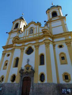 View of Wilten Basilica in Innsbruck