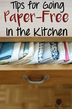 How to Go Paper Free in the Kitchen- Tips for transitioning to a paper free…