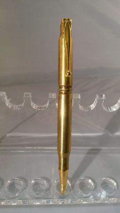 Brass shell Pen