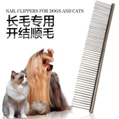 Pet dog cat hair combs accessories doggy Hair Fur Grooming Long Comb Brush pets grooming pet products 1pcs //Price: $US $3.32 & FREE Shipping //     #dodoggreat