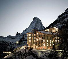 Omnia Hotel. Zermatt Switzerland
