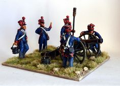 Victrix 54mm French Napoleonic artillery with crew