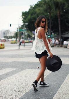 White Loose Cutout Criss Cross Back Top  # #Sincerely Jules #Winter Trends #Fashionistas #Best Of Fall Apparel #Top Back #Back Tops #Back Top White #Back Top Criss Cross #Back Top cutout #Back Top Loose #Back Top Clothing #Back Top 2014 #Back Top Outfits #Back Top How To Style