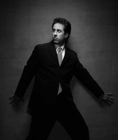 I'll admit Jerry Seinfeld has a handsome side to him.