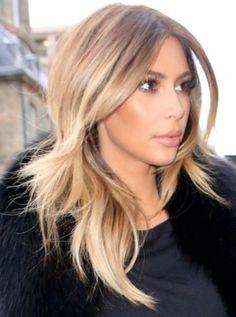 My favorite hair color on Kim