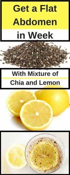 Consume a mixture of chia with lemon and you will get a flat abdomen in 1 week - Lo Que Necesitas Saber Para Una Vida Saludable 1500 Calorie Diet, Calorie Intake, Herbal Remedies, Natural Remedies, Health Remedies, Detox Cleanse For Weight Loss, Baking Soda And Lemon, Detoxify Your Body, Recipes