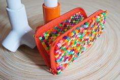 Hama beads purse