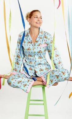 Bedhead Pajamas: Luxury Pajamas made locally from the finest cottons. BedHead Pajamas are made in the USA. Best Pajamas, Pajamas Women, Lingerie Editorial, Bedhead Pajamas, Dresses For Less, Designer Lingerie, Pjs, Floral Tops, Stylish