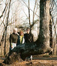 Trail Marker Tree in Georgia