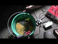 How to Clean Metal with Electrolysis, Part 2 Metal Detecting Tips, How To Remove Rust, How To Clean Metal, Repurposing, Cleaning, Youtube, Home Cleaning, Youtubers, Youtube Movies